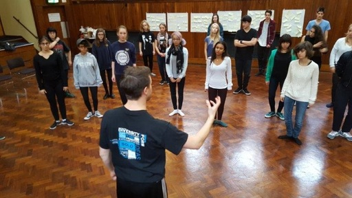 Three Days of Theatre Master Classes with ISTA