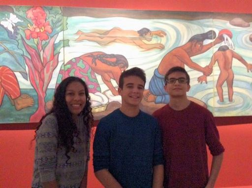 A morning with Frida Kahlo, Diego Rivera and José Clemente Orozco
