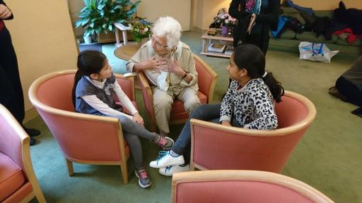 Primary School students join ISP's intergenerational learning project